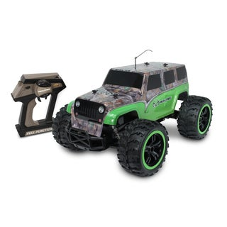 NKOK Green Camo 1:10 Ready to Run RC RealTree Jeep Wrangler Unlimited