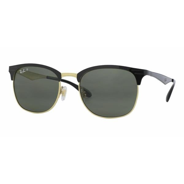 8ac984105d Ray Ban Women RB3538 187 9A Black Metal Square Sunglasses. Click to Zoom