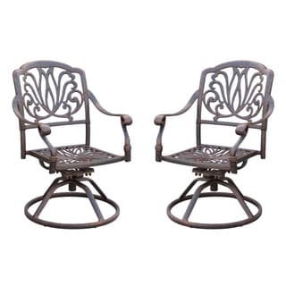 Elisabeth Metal Patio Dining Chairs (Set of 2)