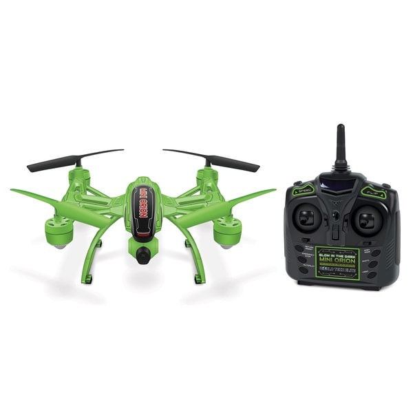 World Tech Toys Elite Mini Orion Glow in the Dark Green RC Camera Drone