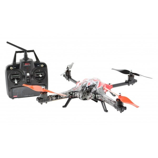 6-channel Fully Aerobatic Plastic Drone