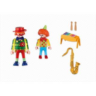 Playmobil Unisex Musical Clowns