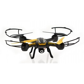 2MP 4-channel 6-axis Camera Plastic Drone with Altitude Hold, 1-key Return, and Headless Modes