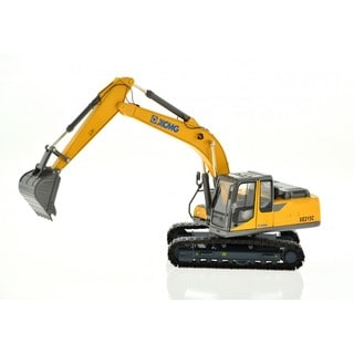 Rotation Yellow Excavator