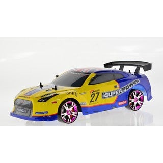 Multicolored 1:10 Scale Model Drift Racing Car