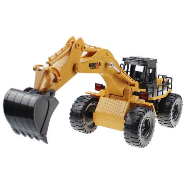 6-channel Excavator With Die Cast Shovel