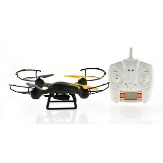 FPV 4-channel 6-axis Camera Drone With Altitude Hold, 1 Key Return, and Deadless Modes