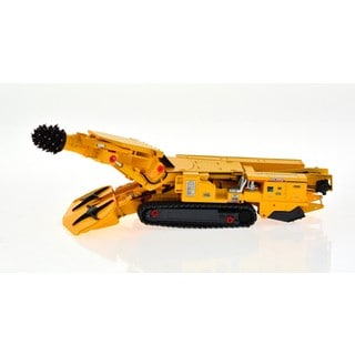 Scale Drill Road Header Toy