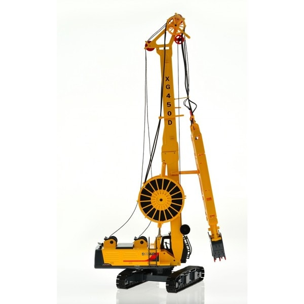 Hydraulic Diaphragm Wall Grabber Yellow Toy