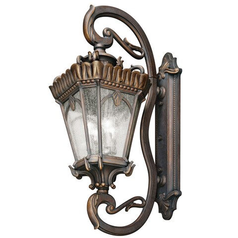 Kichler Lighting Tournai Collection 4-light Londonderry Outdoor Wall Lantern