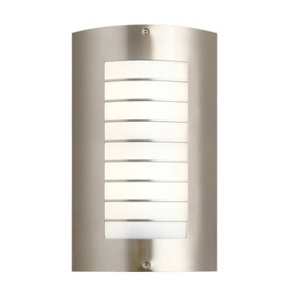 Kichler Lighting Newport Collection 2-light Brushed Nickel Outdoor Wall Sconce