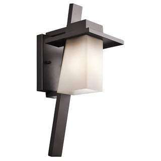 Kichler Lighting Stonebrook Collection 1-light Architectural Bronze Outdoor Wall Sconce