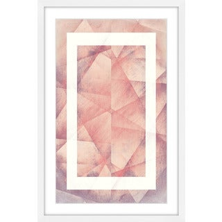 Marmont Hill - 'Folds Copy' by Bryon White Framed Painting Print