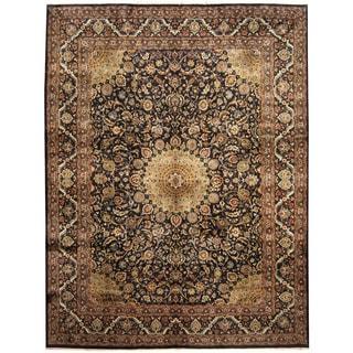Herat Oriental Persian Hand-knotted Tribal Kashmar Wool Runner (9'8 x 12'11)