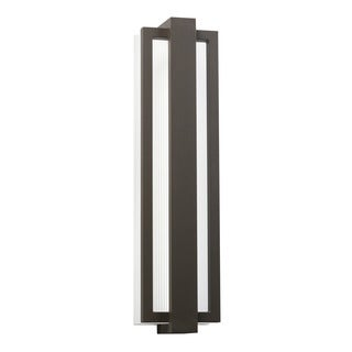 Kichler Lighting Sedo Collection 1-light Architectural Bronze LED Outdoor Wall Sconce