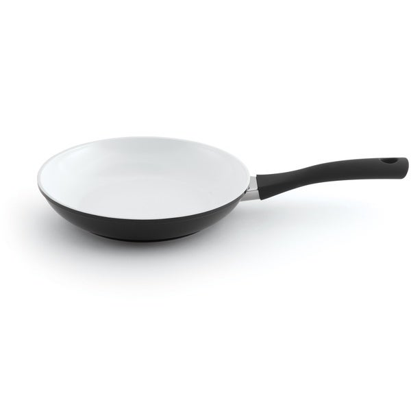 BergHOFF Eclipse Black and White Aluminum 10-inch 1.6-quart Fry Pan