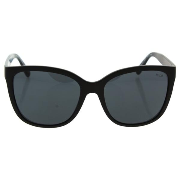 2285f558a0ca Shop Polo Women PH4114 528487 Plastic Plastic Square Sunglasses ...