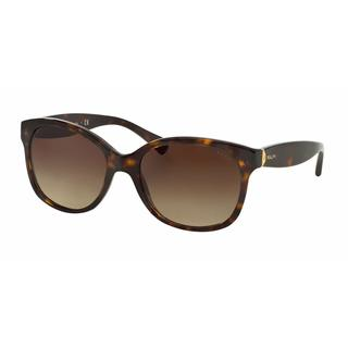 Ralph Women RA5191 137813 Havana Plastic Cat Eye Sunglasses