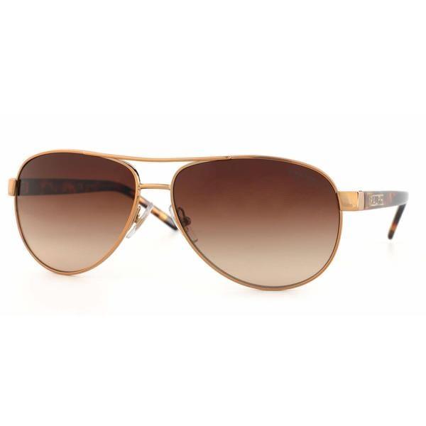 f9c99aff31 Shop Ralph Women RA4004 104 13 Brown Plastic Cateye Sunglasses ...