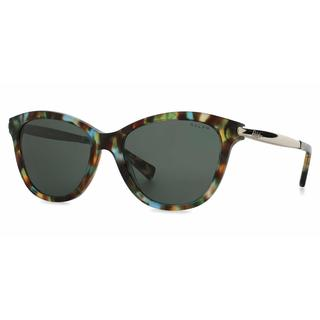 Ralph Women RA5201 145671 Havana Metal Cat Eye Sunglasses
