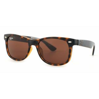Ray Ban Junior RJ9052S 152/73 Havana Plastic Square Sunglasses
