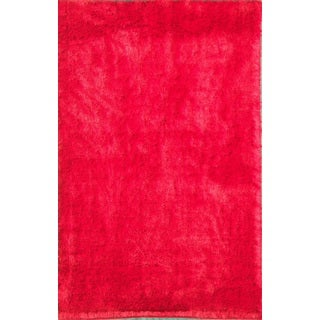 Noble House Inc Mirage Red/Brown Polyester Shag Rug (8'x11')