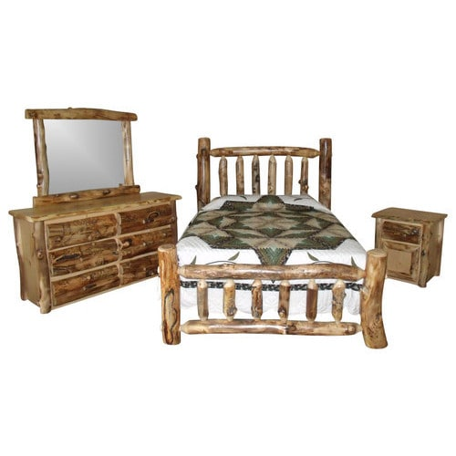 Popular Log Bedroom Sets Collection