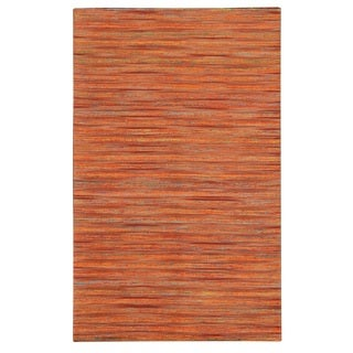 Lazarro Flat-Weave Jute and Art Silk Rug (5' x 7'6)