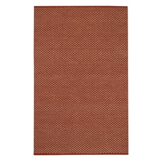 Allie Flat Woven Rugs Clay ( 8' x 10')