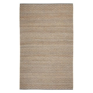 Indy Flat Woven Rugs Blue Green ( 7' x 9')