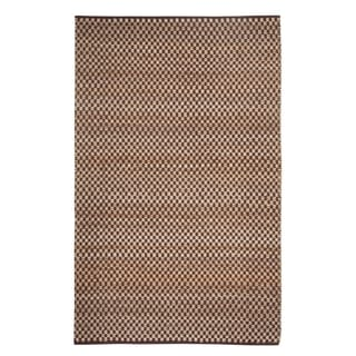 Indy Flat Woven Rugs Cocoa ( 7' x 9')