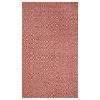 Dash Flat Woven Rugs Ruby ( 7' x 9')