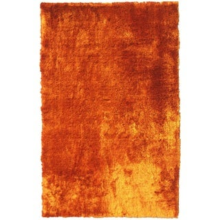 Noble House Mirage Multicolored Shag Rug (4'x6')