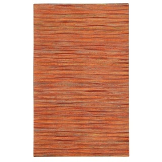 Noble House Lazarro Orange Jute and Art Silk Rug (7'9 x 10'6)