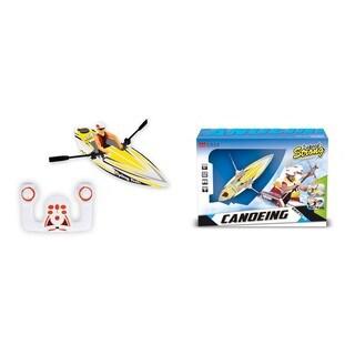 Yellow Plastic 2.4-gigahertz Micro Rowboat