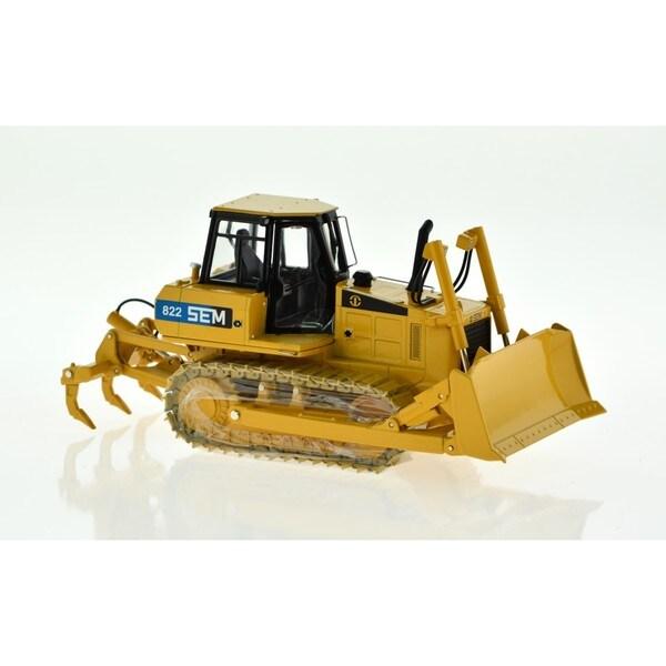 SEM Yellow Bulldozer
