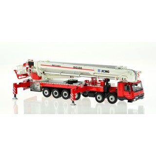 Red Elevating Platform Fire Truck