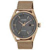 Citizen Men's  Drive From Citizen Eco-drive Rosetone Stainless Steel Watch