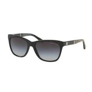 Michael Kors Women MK2022 RANIA II 316811 Black Plastic Square Sunglasses