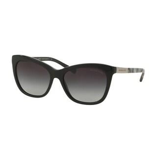 Michael Kors Women MK2020 ADELAIDE II 312011 Black Plastic Cat Eye Sunglasses