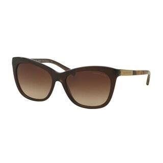 Michael Kors Women MK2020 ADELAIDE II 311613 Brown Plastic Cat Eye Sunglasses