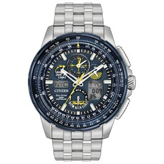 Citizen Eco-Drive Men's JY8058-50L Blue Angels Skyhawk Atomic Timekeeping Stainless Steel Watch|https://ak1.ostkcdn.com/images/products/13327234/P20031720.jpg?impolicy=medium