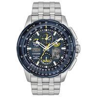 Citizen Eco-Drive Men's JY8058-50L Blue Angels Skyhawk Atomic Timekeeping Stainless Steel Watch