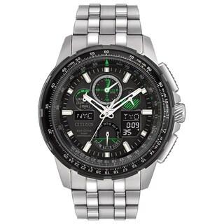Citizen Men's JY8051-59E Eco-Drive Skyhawk Atomic Timekeepingn Stainless Steel Watch