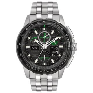 Citizen Men's JY8051-59E Eco-Drive Skyhawk Atomic Timekeepingn Stainless Steel Watch|https://ak1.ostkcdn.com/images/products/13327240/P20031721.jpg?impolicy=medium