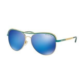 Michael Kors Women MK1012 VIVIANNA I 110625 Gold Metal Cateye Sunglasses