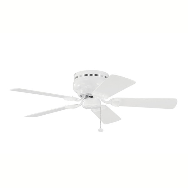Kichler Lighting Stratmoor Collection 42 Inch White Ceiling Fan On Free Shipping Today 13327378