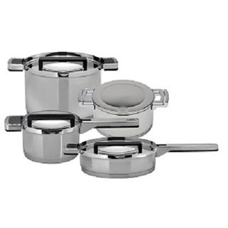 BergHOFF Neo Cookware Set 18/10 Stainless Steel 8pc