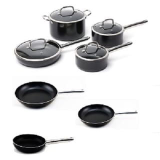BergHOFF EarthChef Boreal Cookware Set Non-Stick Aluminum 11pc