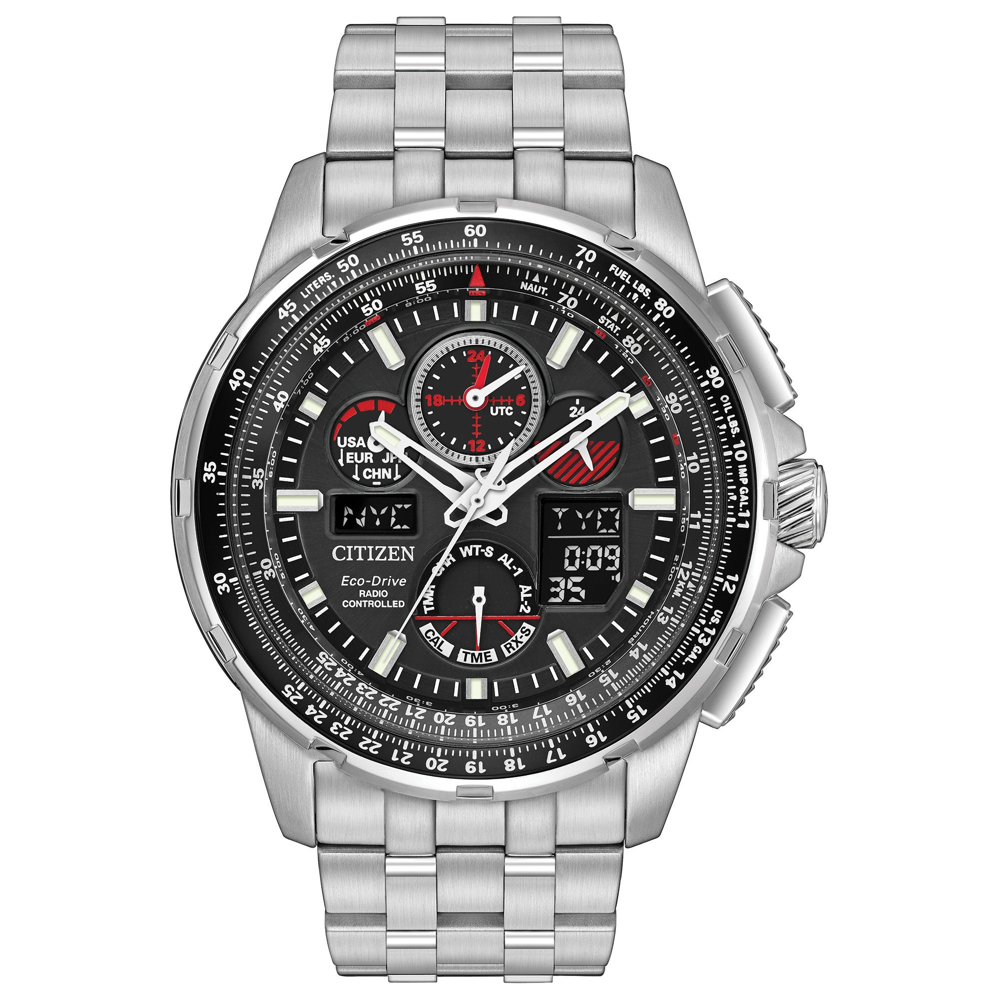 Citizen Men's JY8050-51E Eco-Drive Skyhawk Atomic Timekee...
